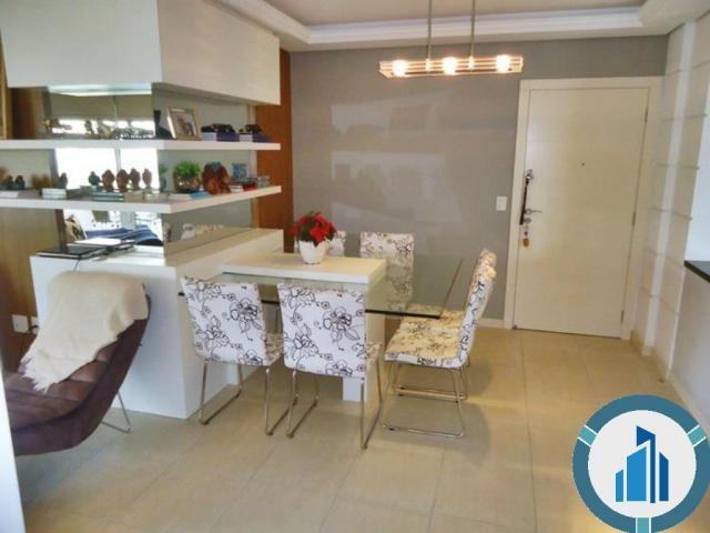 Apartamento para Venda, 03 dormitórios c/ suíte, 2 salas, 2 vagas, 120,87 m² privativos, B - Foto 4