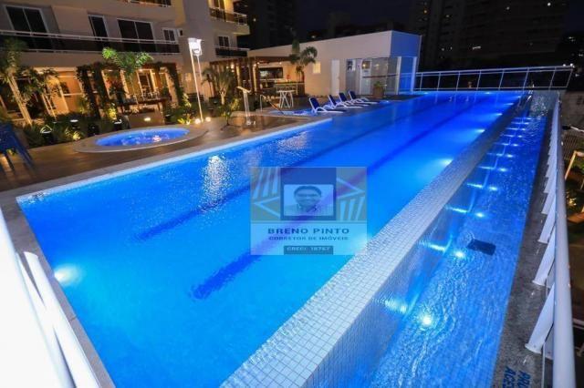 Apartamento no Serenitá Cócó com 3 dormitórios à venda, 98 m² por R$ 799.900 - Cocó - Fort - Foto 3