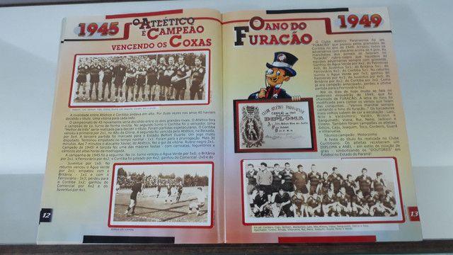 Álbum de figurinhas história ilustrada clube atlético Paranaense  - Foto 5