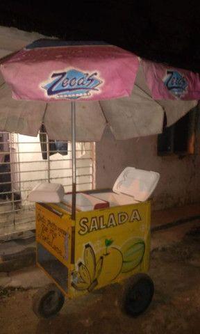 Vendo carrinho de salada - Foto 4