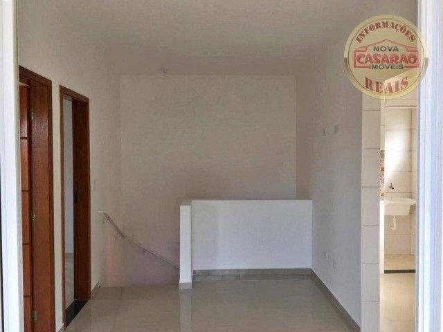 Casa 2 dormitórios no Bairro Canto do Forte em Praia Grande SP - Foto 8