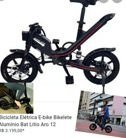 Bike ELETRICA bikelete a melhor......top - Foto 6