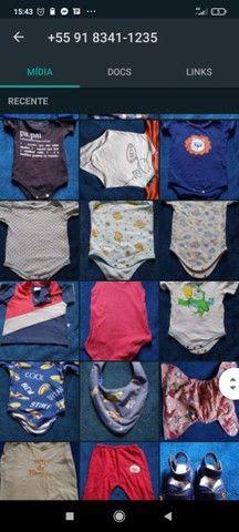 Lote bebê 0-6 meses (+ de 50 peças) - Foto 2