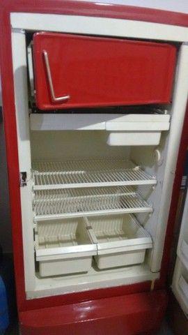 Refrigerador GE raridade antiguidade 1950 colecionador - Foto 3