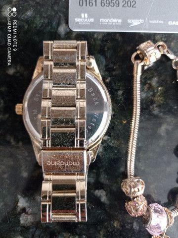 Relógio Mondaine marmorizado - Foto 3