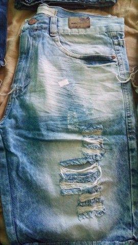 Bermudas jeans atacado - Foto 4