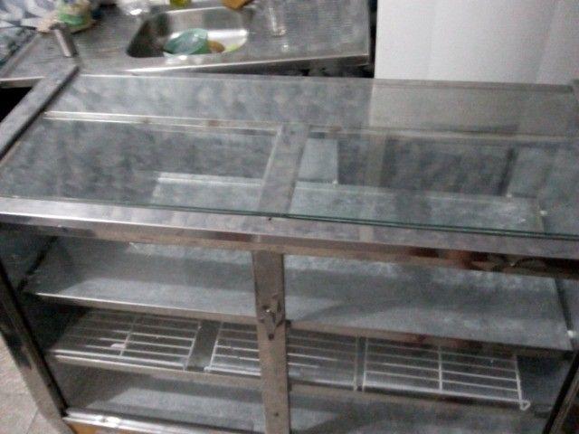 Balcão duas portas expositor refrigerado 220v - Foto 5