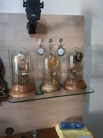 Vendo Abajur  e relógio  antigos  - Foto 2