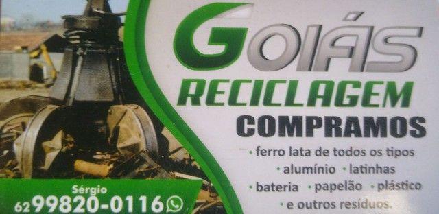 Goiás reciclagem
