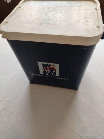 Pote porta ração 12 litros - Foto 3