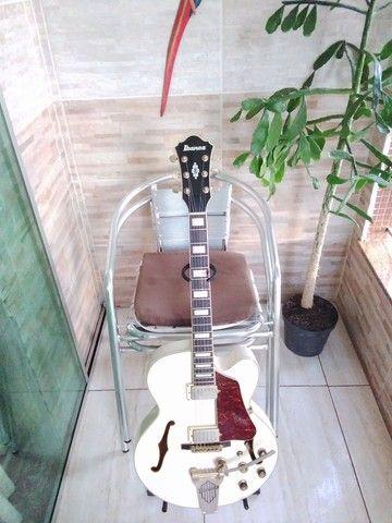 Guitarra Semiacústica Ibanez AF-75 TDG[seminova(regulada)] - Foto 4