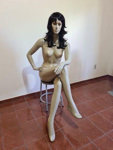 Manequins Manecos - 50 cada - Maneca Adultos Infantis e Pluz Size  - Foto 5