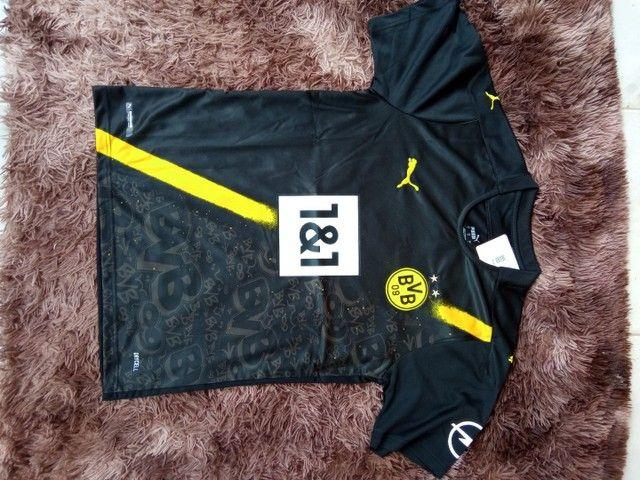 Camisa Borussia Dortmund 110,00 R$ - Foto 4