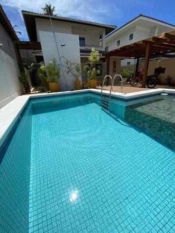 Linda e de fino acabamento! Casa em condomínio fechado 4 quartos, piscina privativa - Foto 2