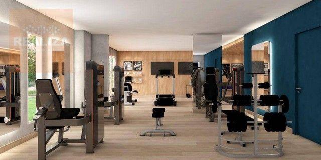 Apartamento com 3 dormitórios à venda, 120 m² por R$ 690.000 - Pedra - Eusébio/CE - Foto 15