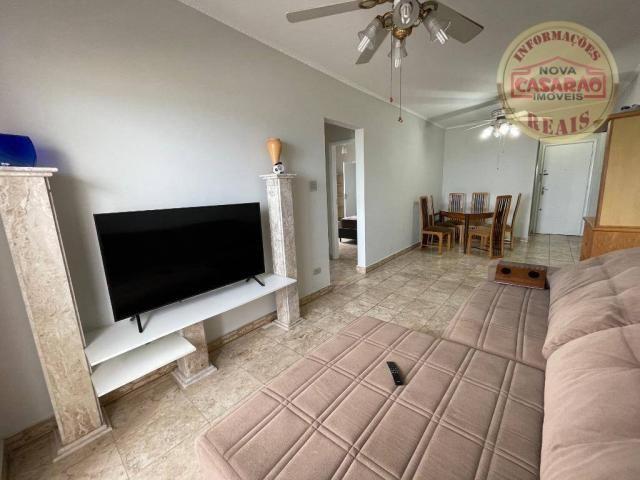 Apartamento com 2 dormitórios à venda, 72 m² por R$ 330.000 - Guilhermina - Praia Grande/S - Foto 3