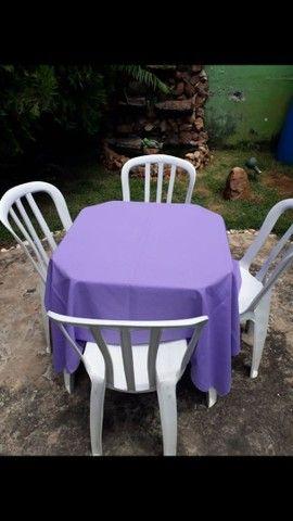 Mesas e cadeiras (LOCAÇÃO) - Foto 4