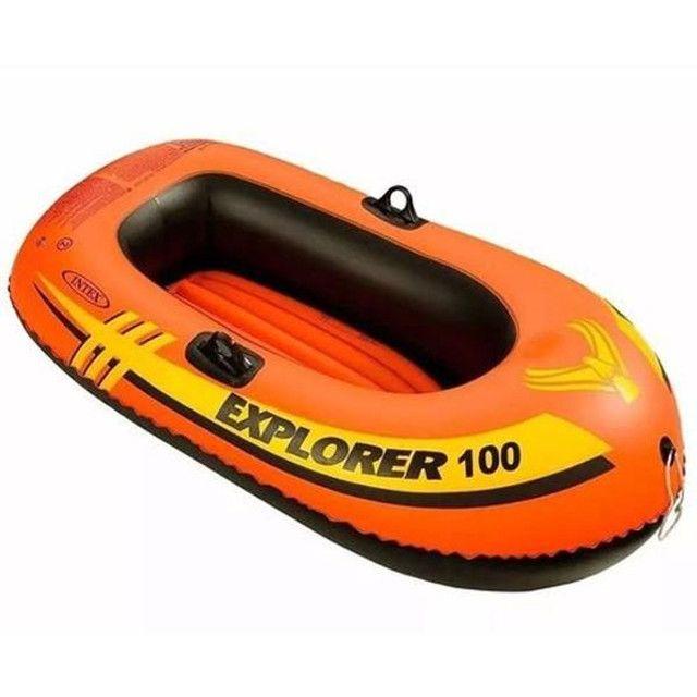 Bote inflável Explorer 100 - Foto 2