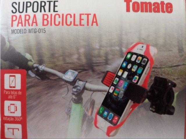 Suporte Universal De Moto E Bike De Silicone 360 Tomate