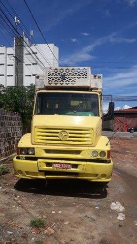 Caminhão Mb 1620 - 97/97 - Baú gelado - Foto 2