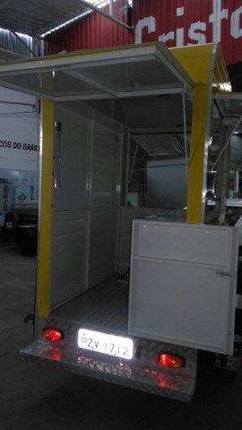 Treilher simples 1,70 para lanches açai sorvete food truck - Foto 5