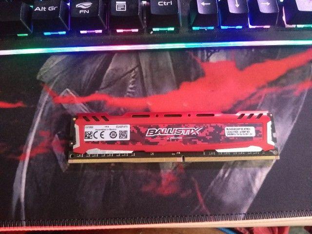 Memória RAM ddr4 4gb crucial ballistix