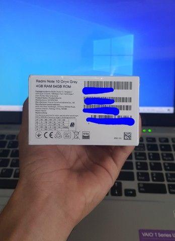 Xiaomi Redmi Note 10 64GB Cinza - Foto 2