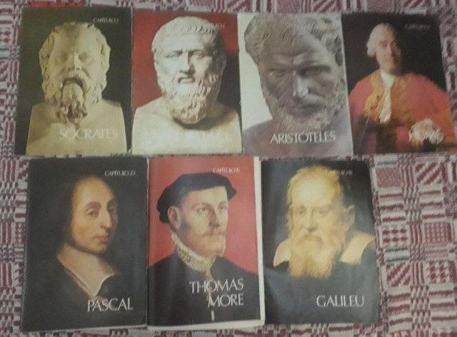 Auguste Conte ( 2 exemplares) + Os Pensadores (Fascículos) - Foto 2