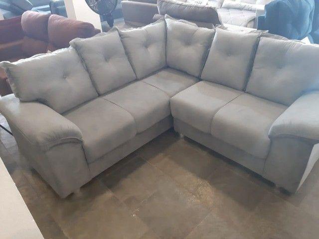 sofa canto 2,00x2,00 metro (novo) - Foto 2