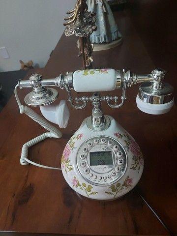 Telefone e Abajour estilo Vintage (Adornos) - Foto 5