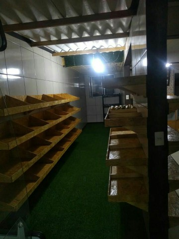 Vendo gôndolas de supermercado de madeira  - Foto 2