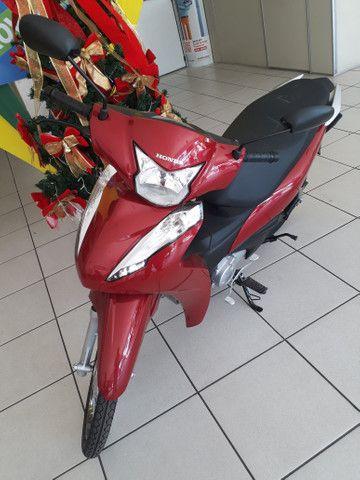 Moto Honda Biz 110 Entrada: 1.000 Em estoque!!!! - Foto 4