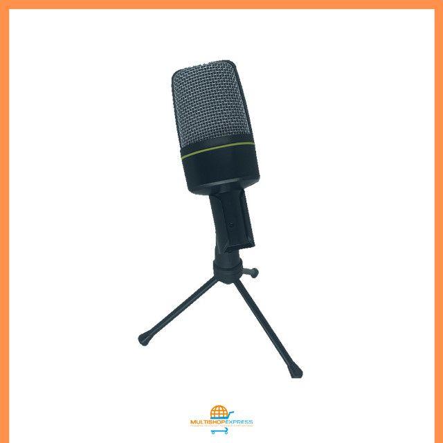 Microfone Condensador Gravação Studio Lives Vídeos - Foto 3