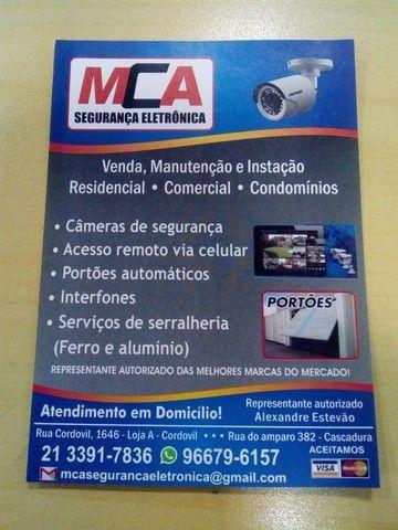 Mca Serviços de Segurança Eletrônica e Serralheria(Ferro e Alumínio)