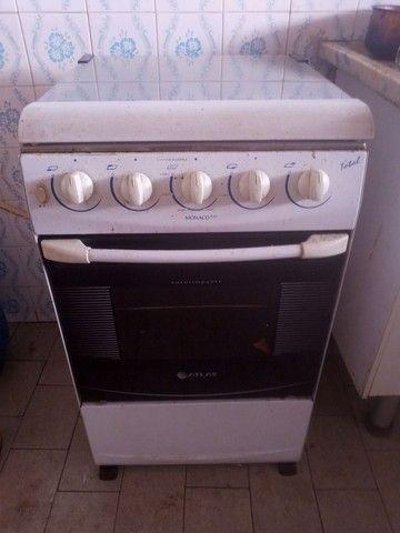 Fogão 4 com forno
