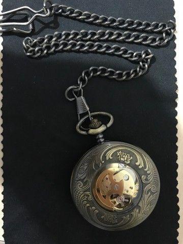Relógio de bolso automático YISUYA ORIGINAL - Foto 2