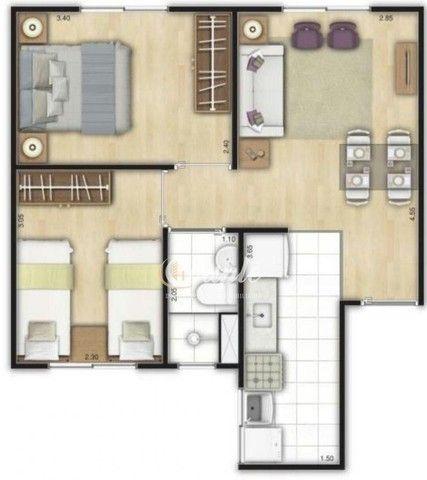 Fran)Apartamento em umbara 100%financiado 60xsem juros saia do aluguel nesse ano  - Foto 3