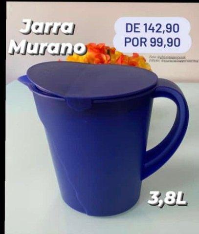 Jarra Murano tupperware 3,8 litros promoção  - Foto 2