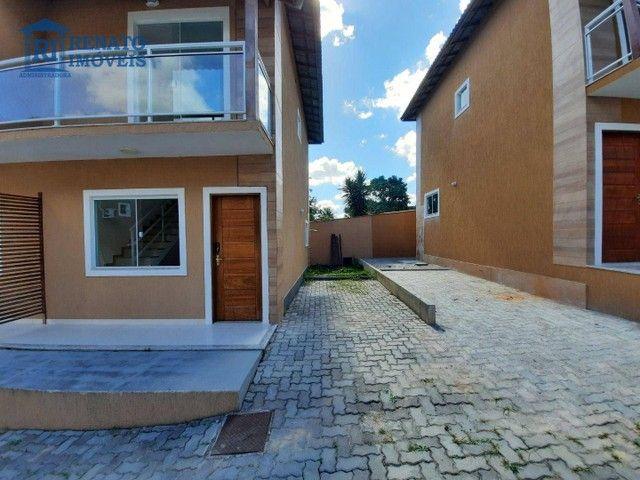Casa com 2 dormitórios para alugar por R$ 1.200,00/mês - Inoã - Maricá/RJ - Foto 2