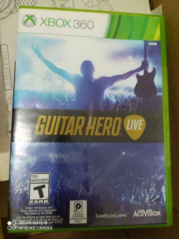 Guitarras guitar hero e jogo original  - Foto 3