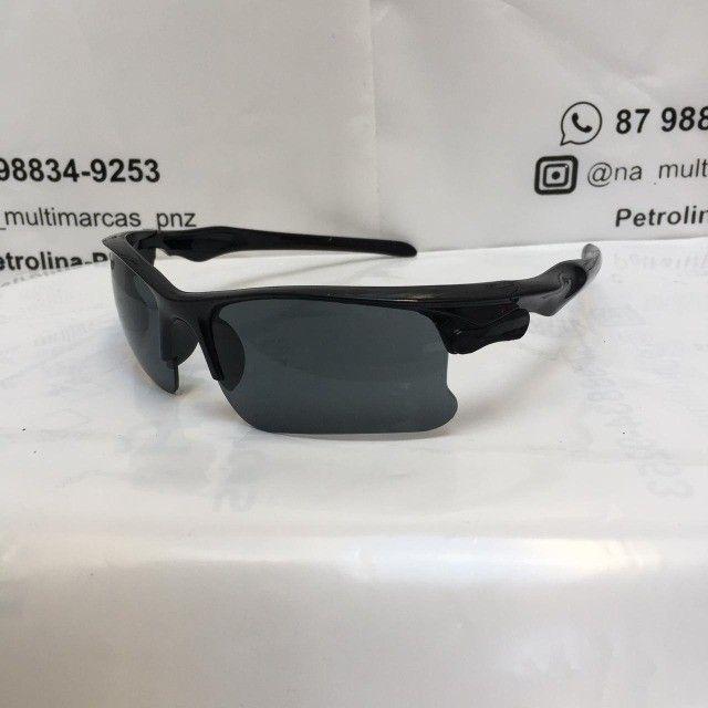 Oculos De Sol Escuro Esportivo Bike Corrida - Foto 4