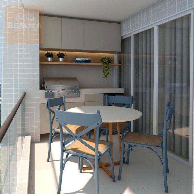 Apartamento com 3 dormitórios à venda, 120 m² por R$ 690.000 - Pedra - Eusébio/CE - Foto 11