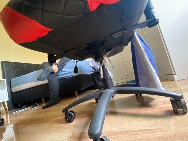 Cadeira Gamer ThunderRx3 - marcas de uso - Foto 5