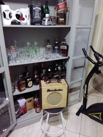 Caixa Amplificada de Guitarra Danelectro(Rara no Brasil)