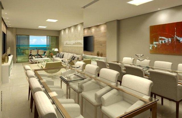 JS- Apartamento na Beira Mar de Casa Caida - 144m² | Varanda Gourmet Holanda Prime - Foto 3