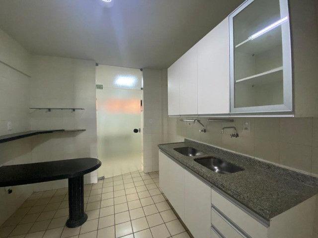 Apartamento com 3 dormitórios para alugar, 101 m²- Manaíra - João Pessoa/PB - Foto 5