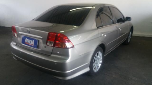 Honda Civic Lx 1.7 2005 Automatico AT