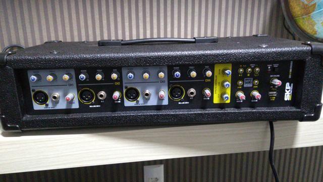 Caixa de Som + Cabeçote (amplificador)Super Oferta!!!!!! Ocasião - Foto 3