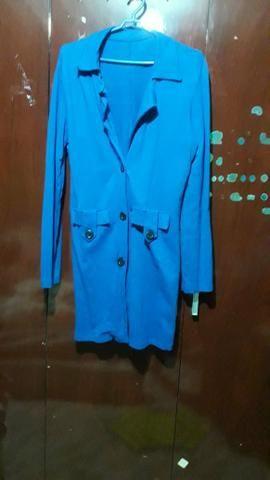 Casaco/jaqueta azul
