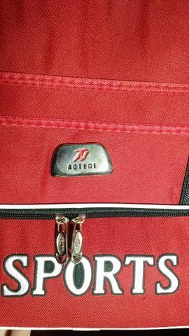Bolsa Sport Vermelha - Importada dos EUA - Nova - Foto 5